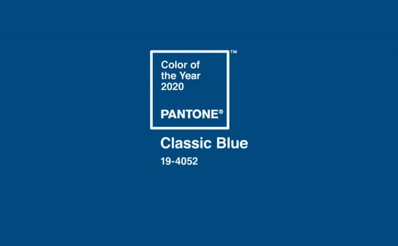 El azul clásico de toda la vida se convierte en color del año 2020