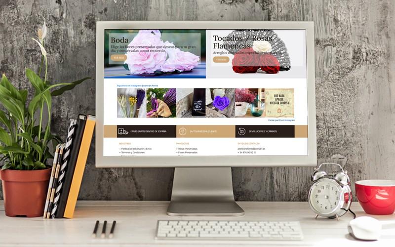 Nueva tienda online para Concari