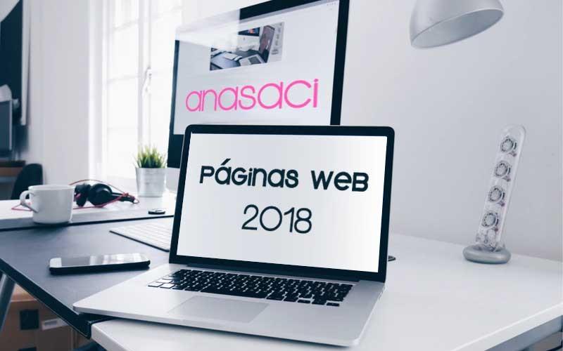 Diseño y Desarrollo de Páginas Web de 2018