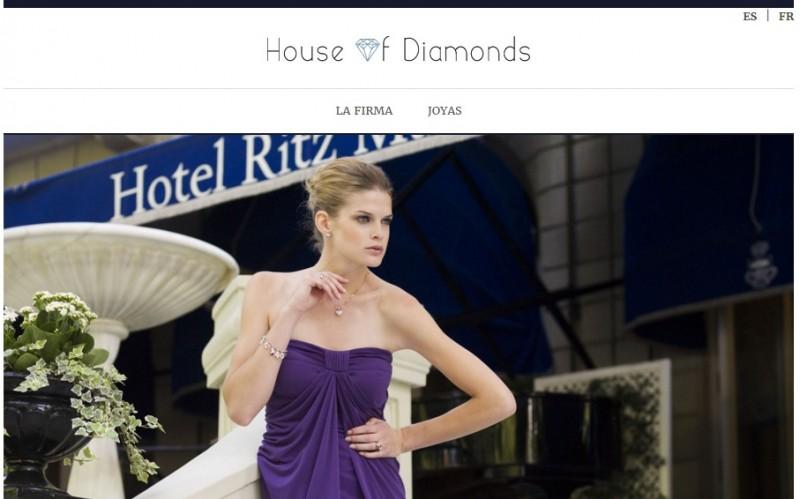 Diseño de Página Web Expres 24 horas de Joyas