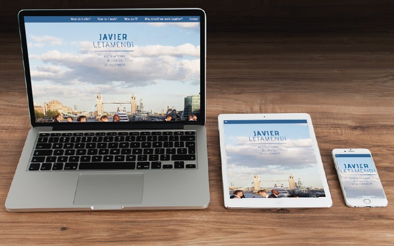 Nuestro nuevo proyecto web: una Landing Page para un trotamundos