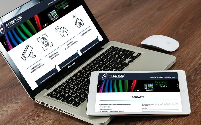 Diseño Web para Prestos