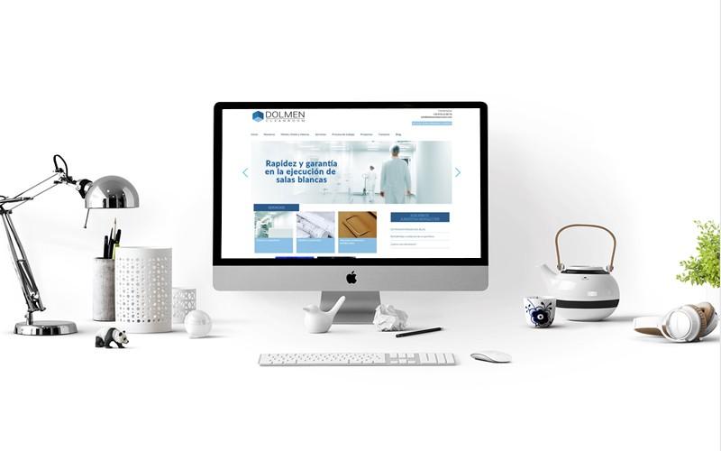 Página Web para Dolmen CleanRoom