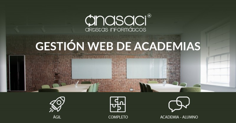 Páginas web para Academias, Clubs y Asociaciones