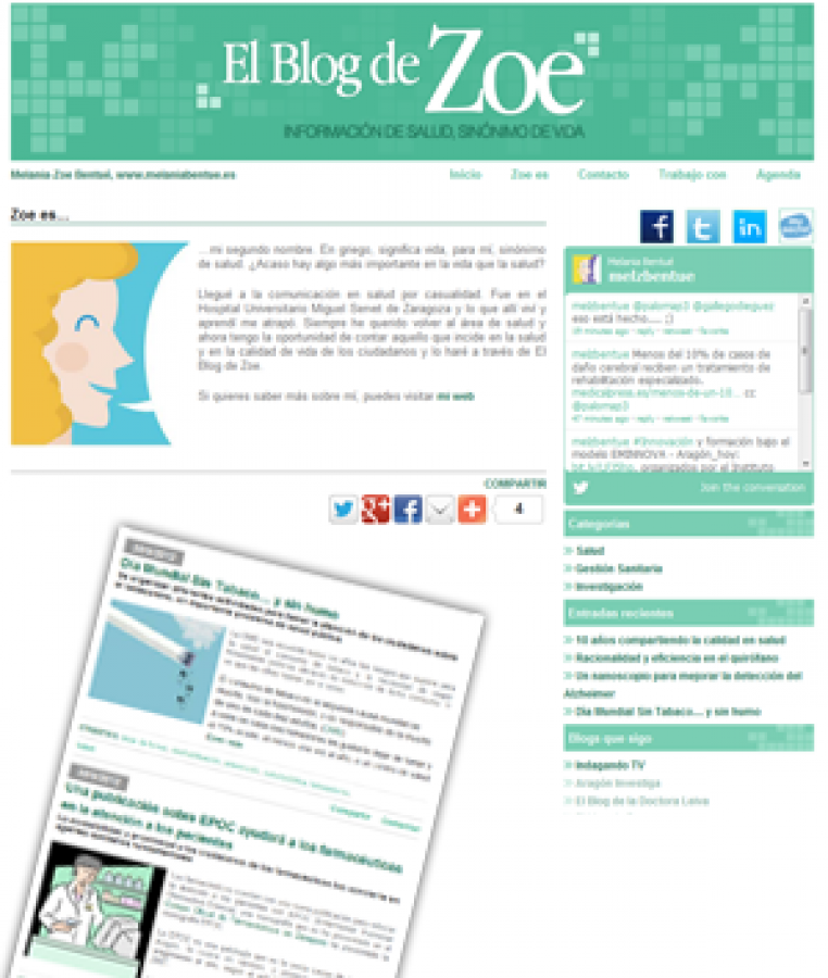 Blog sobre Salud