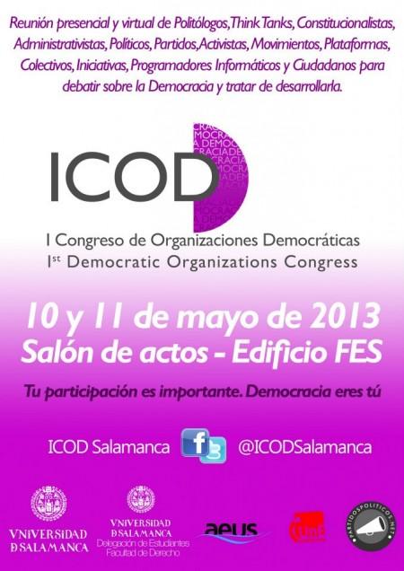 Nuestro Portal: Colabora y Participa en I Congreso de Organizaciones Demócratas