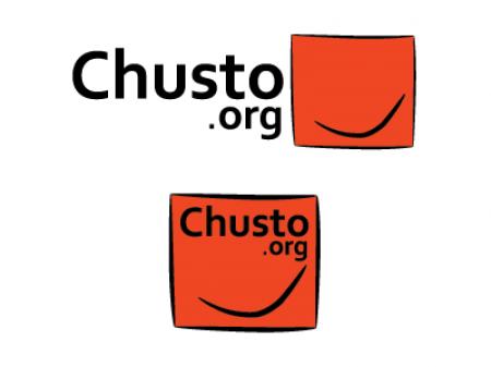 Diseño del logotipo para la Fundación Chusto.org