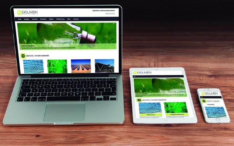 Dolmen, empresa de Ingeniería y Asesoramiento Técnico, ya dispone del mejor portal Responsive del se