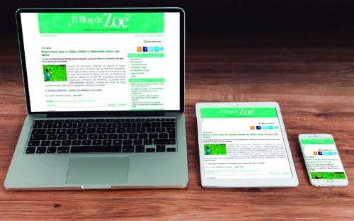 El Blog de Zoe, toda una referencia en información de salud, ahora para todos los dispositivos