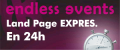 Diseño de Página Web Urgente en 12h: EndLessEvents