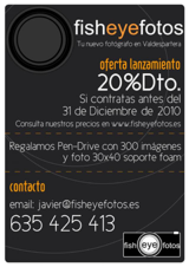 Páginas Web Autogestionables, motor web: fisheyefotos.es