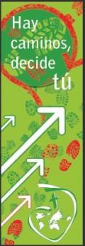 Un banner con un lema: la promoción de una idea NAMING