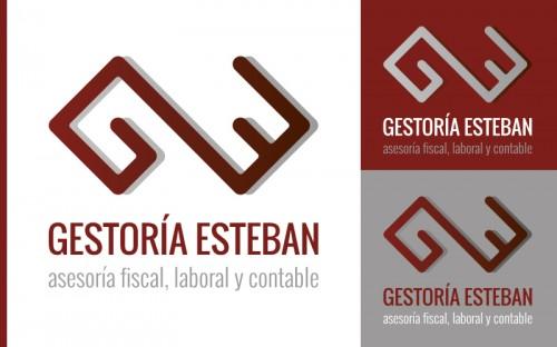 Imagen Corporativa y Página web para Gestoría Esteban