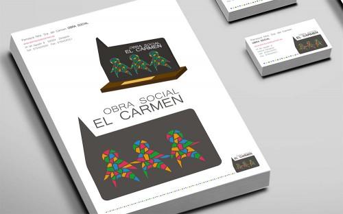 Imagen Corporativa integral para la Obra Social el Carmen