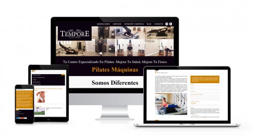 Rediseño Web para Tempore Body Mind