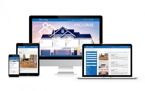 Web Inmobiliaria para Fincas Ruiz