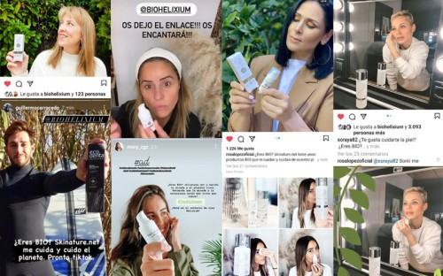Campaña de Marketing Online con Influencers