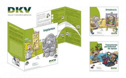 Diseño de Trípticos informativos con la Colaboración de Tris