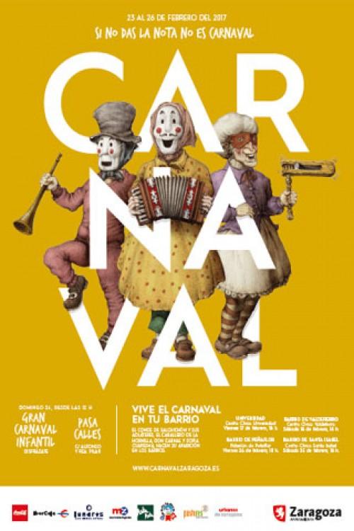 Carnaval 2017 Zaragoza