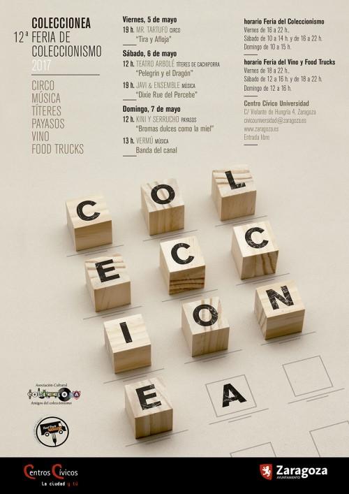 Coleccionea 2017, XII Feria del coleccionismo de Zaragoza
