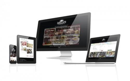 Diseño Web para Heladería Zanellato