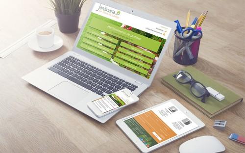 Diseño Web para Jardinería San Mateo de Gállego