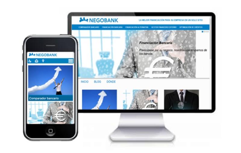 Negobank: naming, logo y web