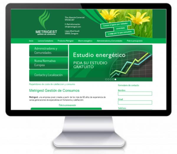 Diseño de Página Web y Posicionamiento SEO ONPAGE para empresa zaragozana