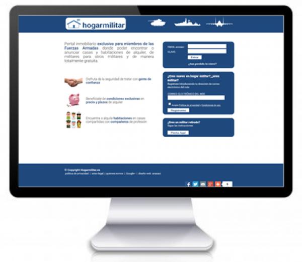 Portal Web Inmobiliario Restringido