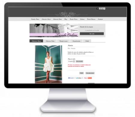 Rediseño de la tienda online de Martha Peters
