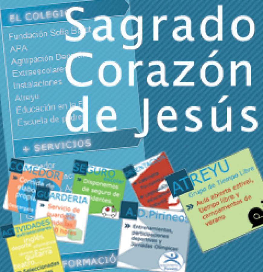 Web Colegio S.Corazón de Jesús