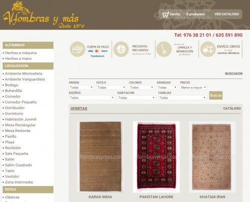 Tienda Online de Alfombras Y Más