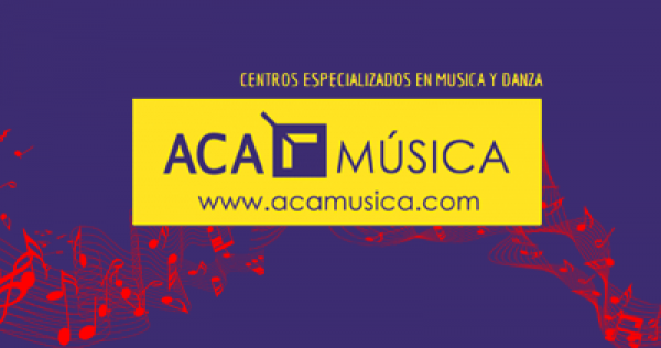 Página web a medida para academia de música
