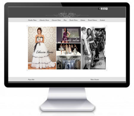 Diseñadora de moda aragonesa