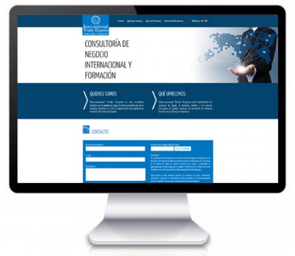 Página web en dos idiomas