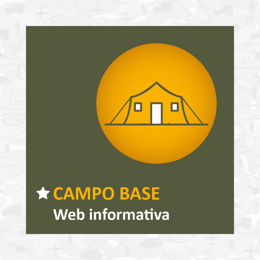 Página web campo base