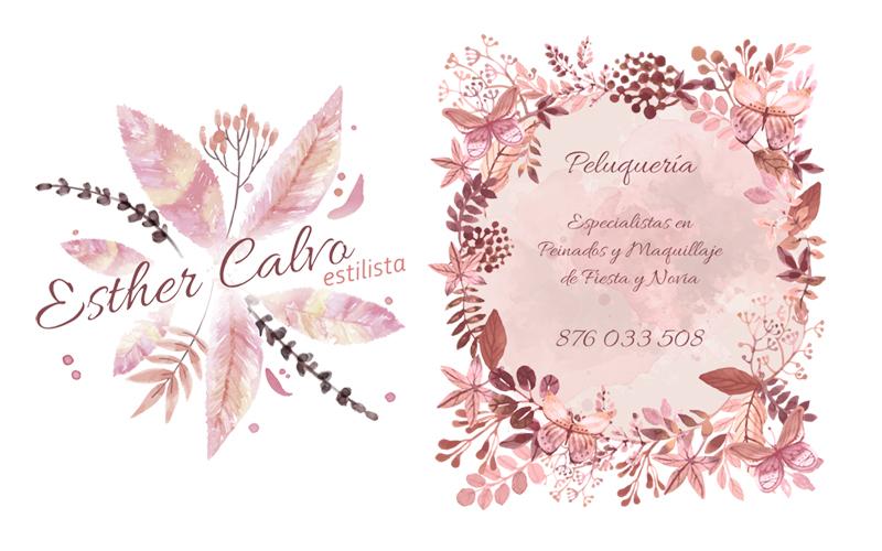 Vinilo decorativo para fachada para Esther Calvo
