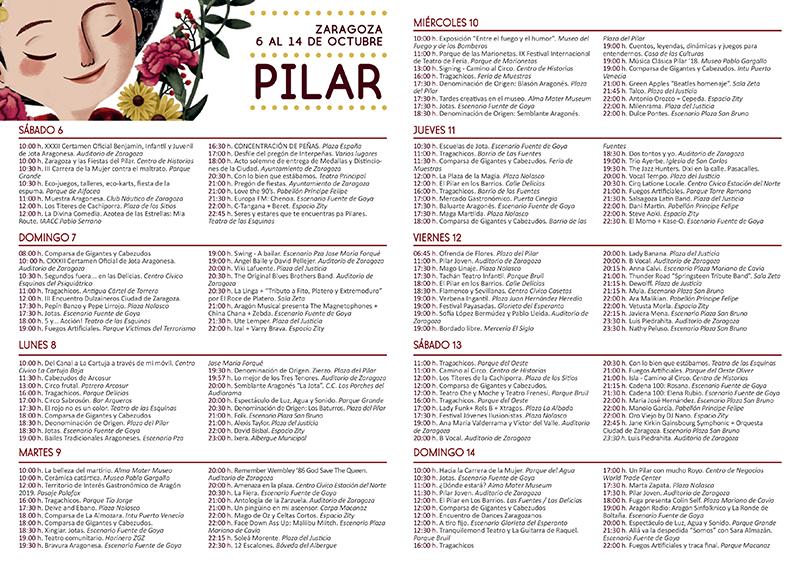 Programa Fiestas Revista Vendemos