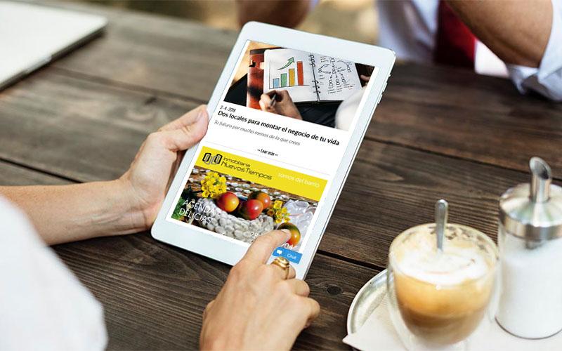 Blog Corporativo Inmobiliaria Nuevos Tiempos